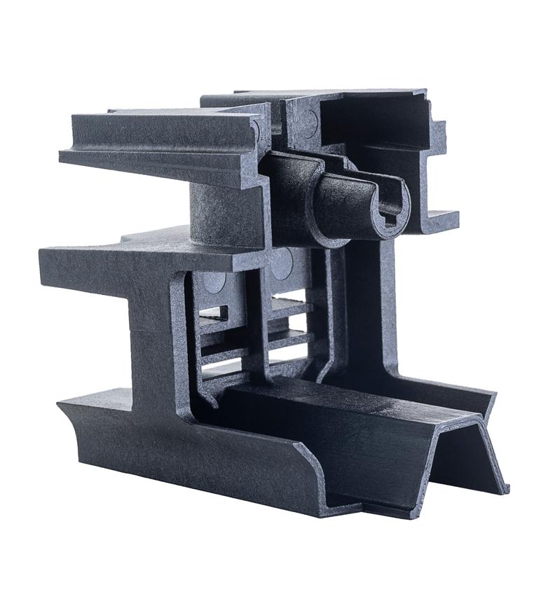 Additives Kunststoffteil - 3D-Druck Kunststoff