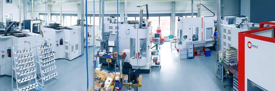 CNC Zerspanung - Produktion