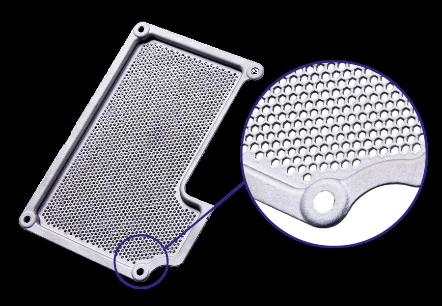 Verfahren - Blechteil aus dem 3D Drucker