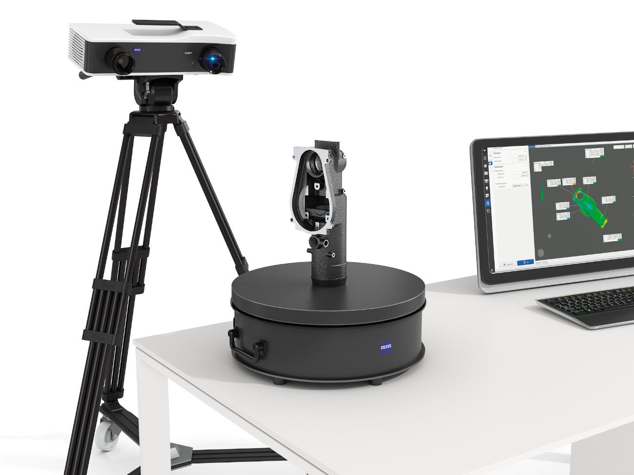 Zeiss Comet 3D Scan