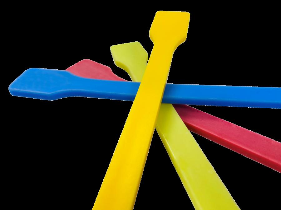 Polyamidguss farbig